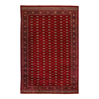 "Contemporary Hand Woven Rug - 12'5"" x 18'9"" For Sale"