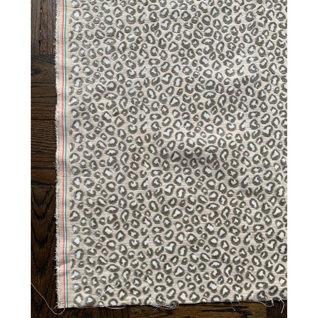 1 Yard Colefax and Fowler Wilde Leopard Velvet Fabric For Sale In New York - Image 6 of 9