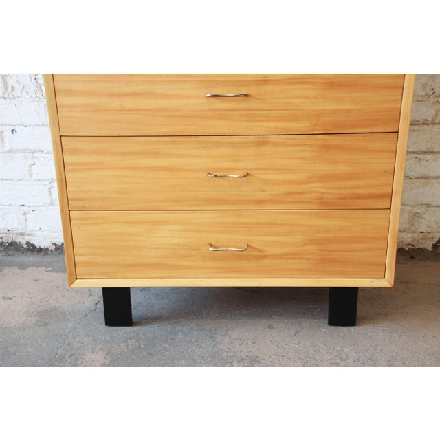 1950s George Nelson for Herman Miller Highboy Dresser For Sale - Image 5 of 13