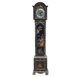 Antique Chinoiserie Grandmother Clock For Sale
