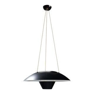 Michel Mortier M4 Suspension Lamp in Black for Disderot For Sale