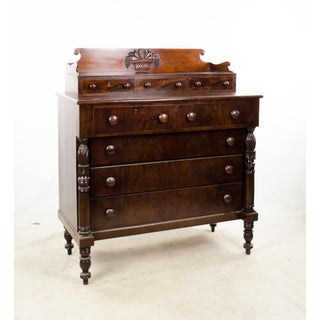 19th Century Antique American Empire 8 Drawer Dresser Preview