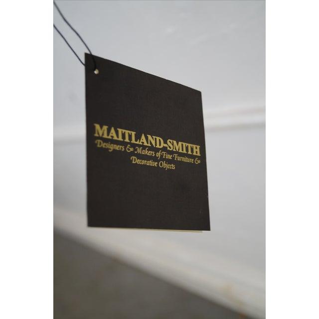 Hollywood Regency Maitland Smith Brass Regency Electrified Sconce For Sale - Image 3 of 10