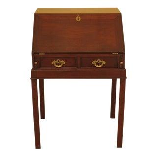 Kittinger Colonial Williamsburg Wa-1037 Mahogany Desk For Sale
