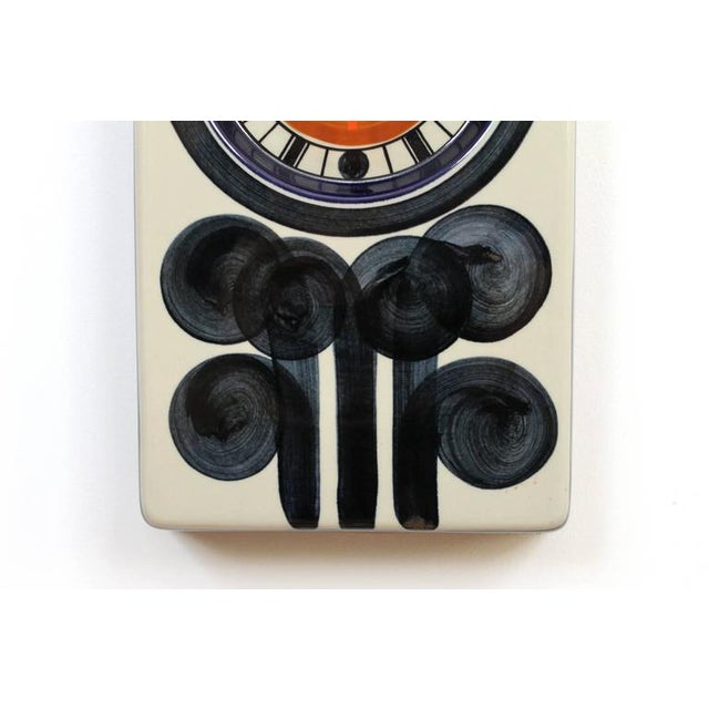 1960s Rorstrand Ceramic Clock Designed by Marianne Westman For Sale - Image 5 of 10