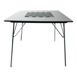 1950s Mid-Century Modern Charles Eames Dining/Game Folding Table For Sale