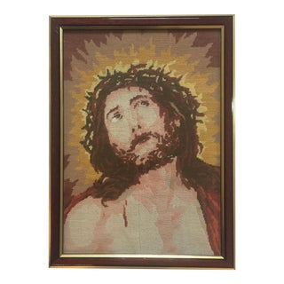 Vintage Christ Pettipoint For Sale