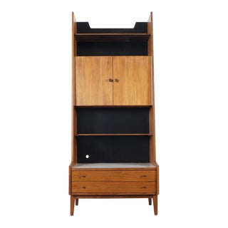 Kipp Stewart Walnut Bookshelf