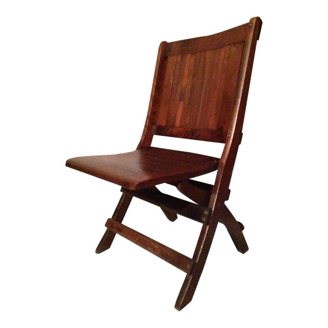 Eight Antique 1880-1890 Readsboro Wooden Folding Chairs - Eight Antique 1880-1890 Readsboro Wooden Folding Chairs Chairish