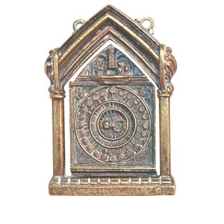 Medieval Clock Door Knocker, 1920s