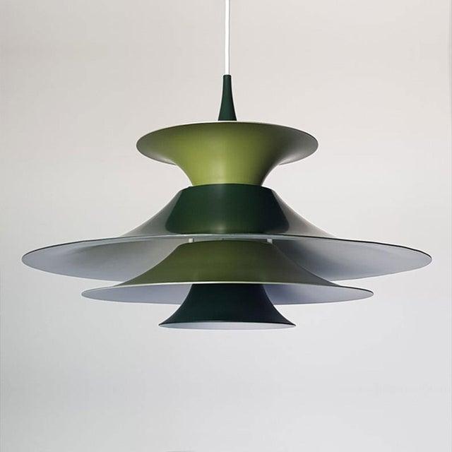 Mid-Century Modern Danish Mid-Century Modern Radius 1 Pendant Lamp by Erik Balslev for Fog & Mørup For Sale - Image 3 of 11