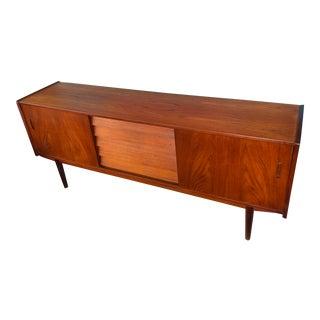 1960s Scandinavian Modern Nils Jonsson Dux Teak Sideboard For Sale