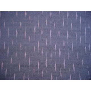 3-1/4y Kravet Couture 34590.511 Fluxus Blue Steel Drapery Upholstery Fabric For Sale
