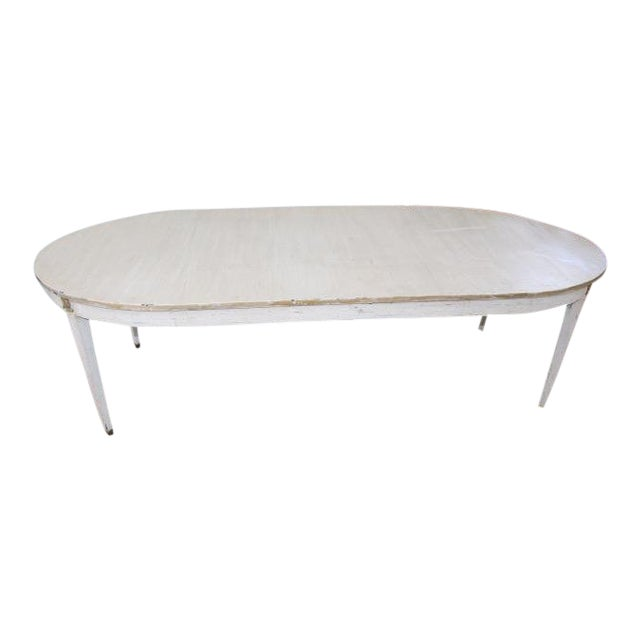 18th Century French Provincial Oval Dining Table For Sale