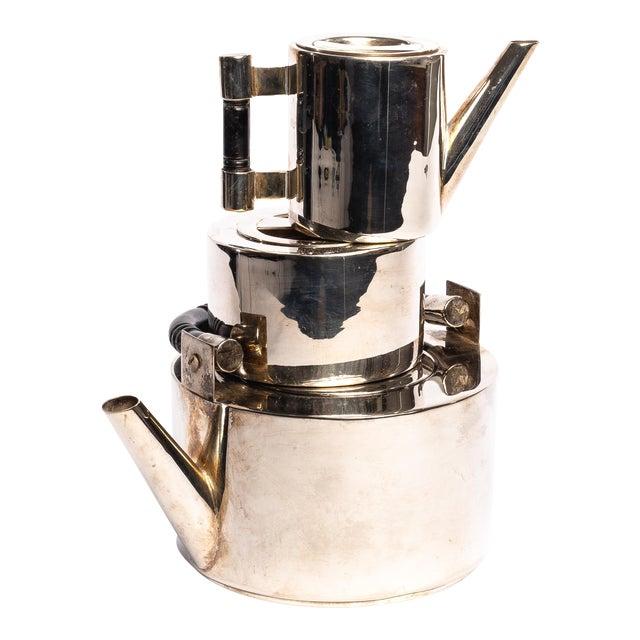 Art Deco Silver Coffee Set - 3 Piece Set For Sale