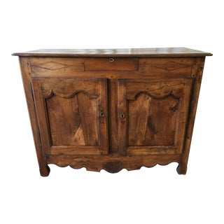 18th C French Antique Walnut Buffet Sideboard For Sale
