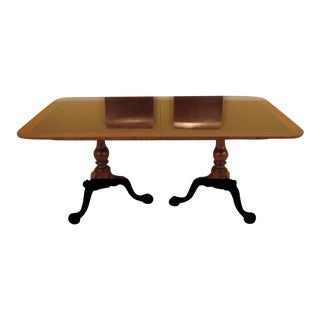 Stickley Colonial WIlliamsburg Mahogany Dining Room Table
