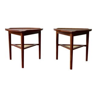 Mid Century Modern Teak End Tables For Sale
