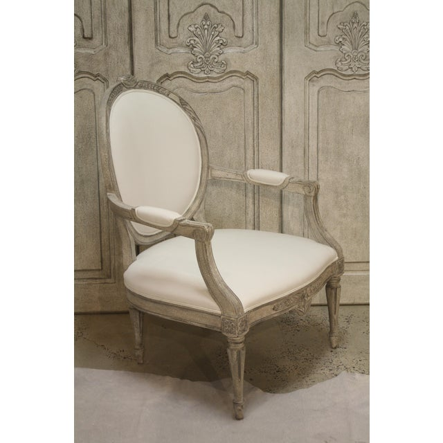 Sabylund Manor Occasional Arm Chair is an antique reproduction of chairs found at Sabylund Manor two hours west of...