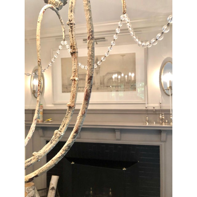 Niermann Weeks Niermann Weeks Italian Chandelier For Sale - Image 4 of 6