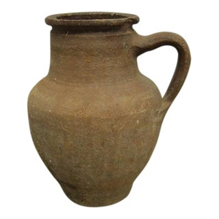 Antique Greek Pottery Vessel For Sale