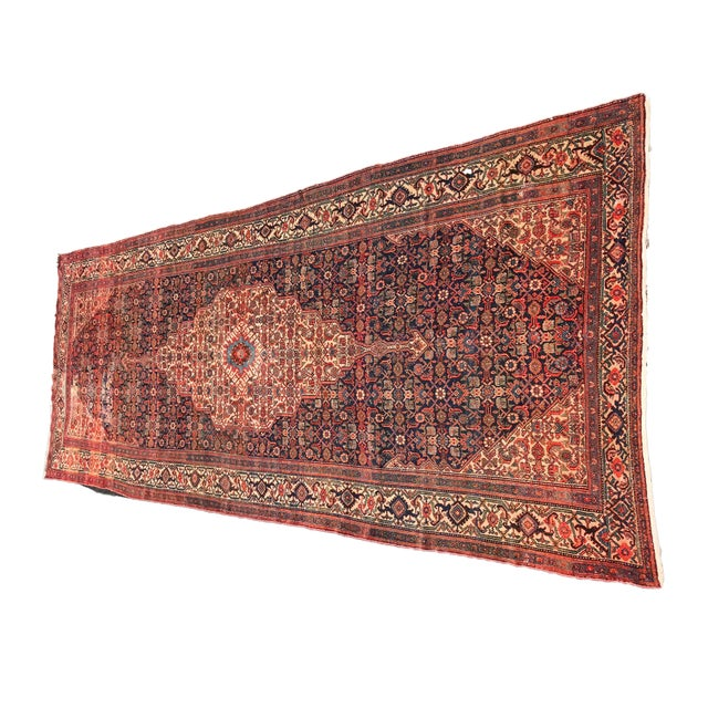 19th Fereghan / Saruk Palace Size Rug For Sale - Image 4 of 13