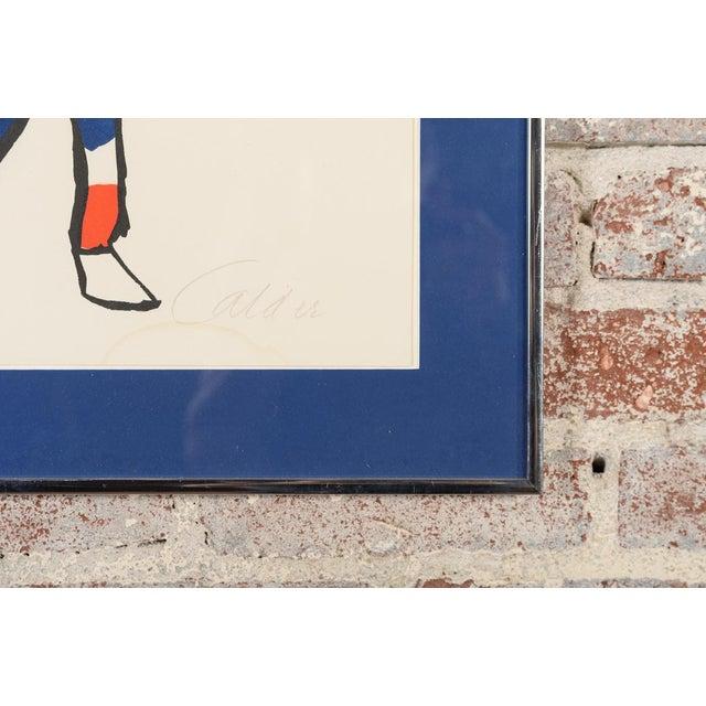 """Circus Bareback Rider"" Framed Alexander Calder Lithograph For Sale - Image 10 of 10"