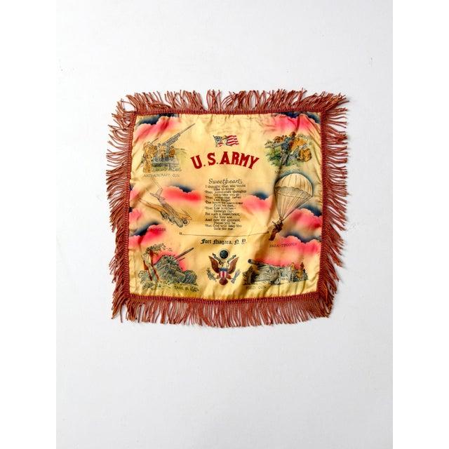 1940s US Army Souvenir Pillowcase - Image 2 of 7