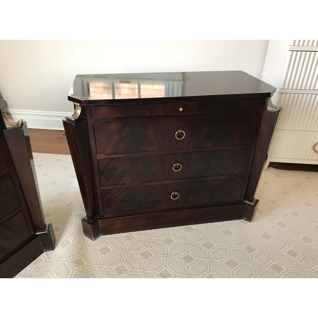 Thomas Pheasant Empire Chest / End Tables - A Pair - Image 6 of 8