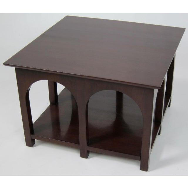 Mid-Century Modern T.H. Robsjohn-Gibbings Coliseum Side Table For Sale - Image 3 of 5