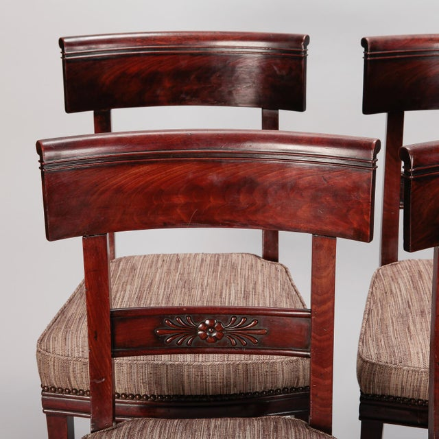 French First Empire Dining Chairs - Set of 6 For Sale - Image 9 of 12