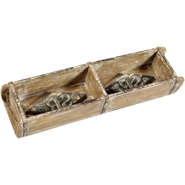 Indian Wooden Brick Mould