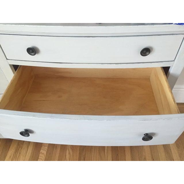 Shabby Chic Light Gray Dresser - Image 8 of 11