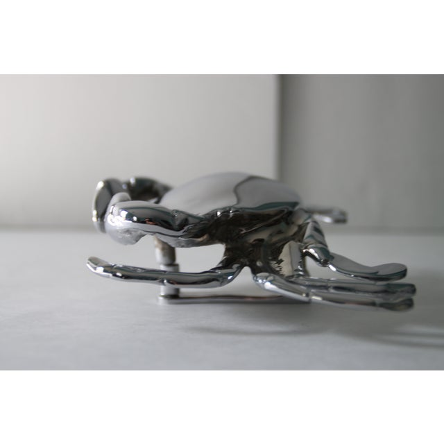 Chrome Crab Door Knocker - Image 4 of 4