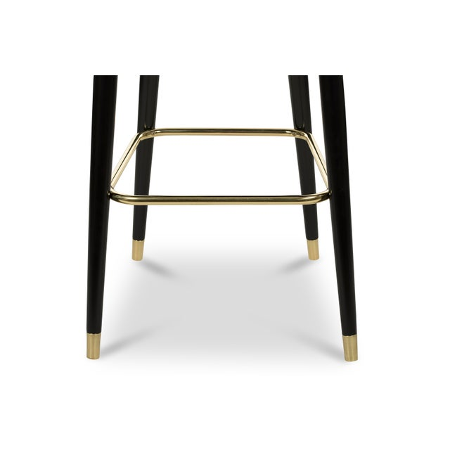 Covet Paris Collins Bar Chair For Sale - Image 4 of 6