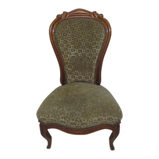 Antique Napoleon III Chair For Sale