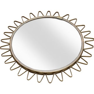 Vintage Starburst Mirror For Sale