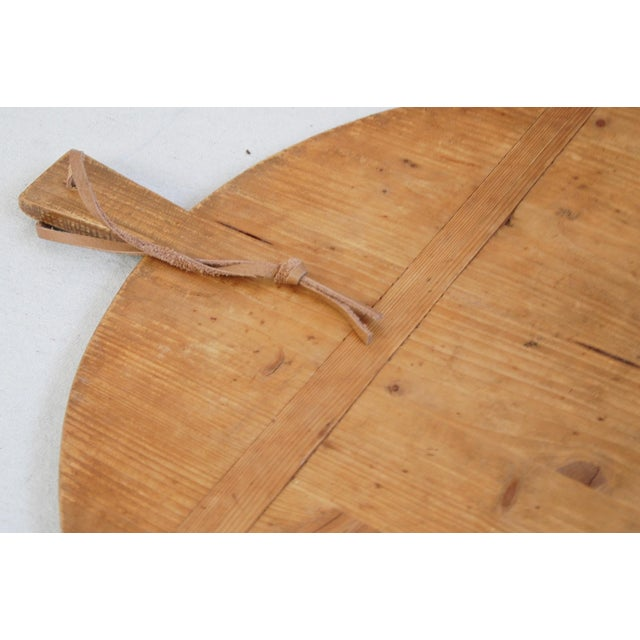 Round French Harvest Bread Cheese Board - Image 8 of 9