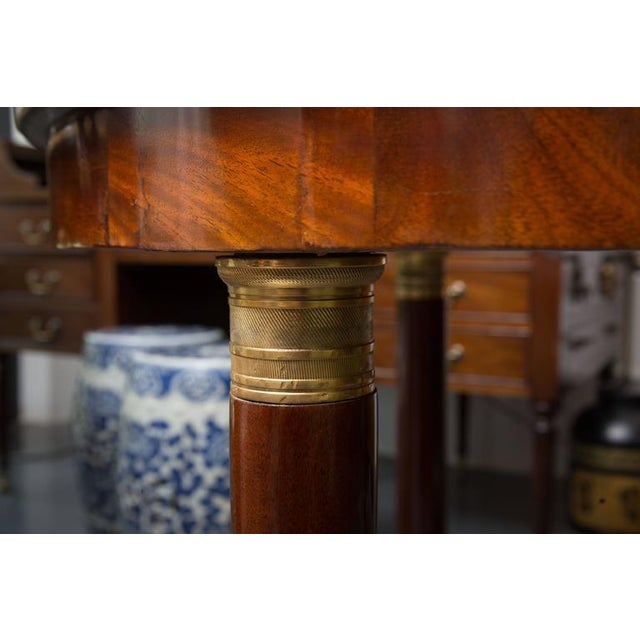 Early 19th Century 19th Century French Empire Center Table For Sale - Image 5 of 8