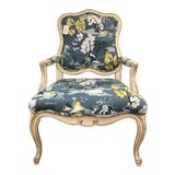 Image of Paladin Blue Side Chair For Sale