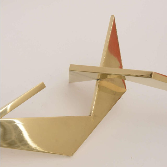 Abstract Bronze Signed Larry Mohr Sculpture For Sale In Miami - Image 6 of 11