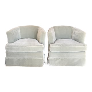 Mohair Club Chairs For Sale