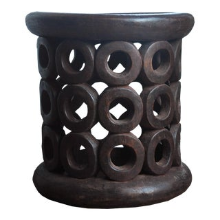Vintage Bamileke Side Tables For Sale