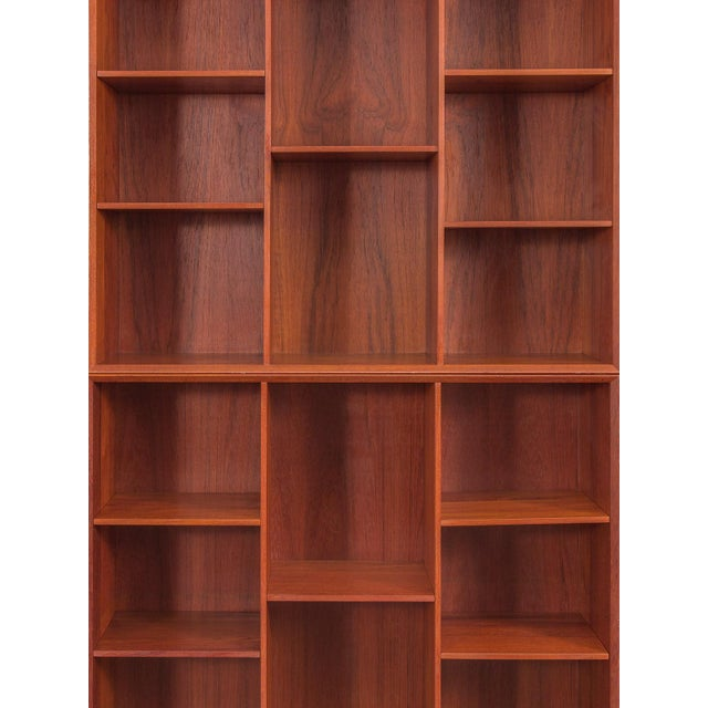 Modular Wall of Stacking Bookcases - Image 4 of 11