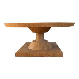 Mid-Century Modern Oak Coffee Table For Sale