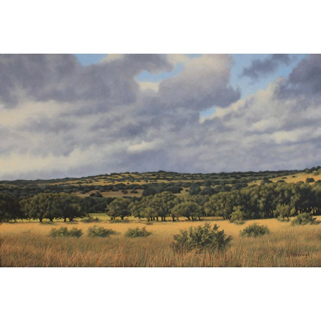"""Realism Garrett Middaugh """"Texas Hill Country Classix"""" Oil Painting For Sale - Image 3 of 3"""