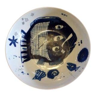 Thuringia Lengsfeld Porzellan Fish Bowl
