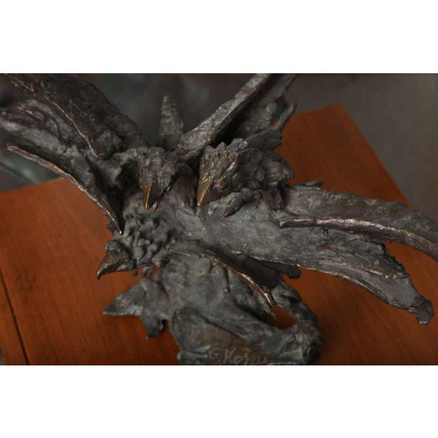 George Koras Ravens Sculpture - Image 4 of 8