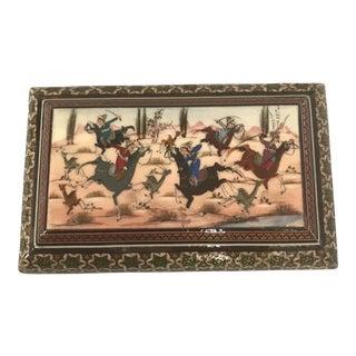 Decorative Persian Marquetry Box