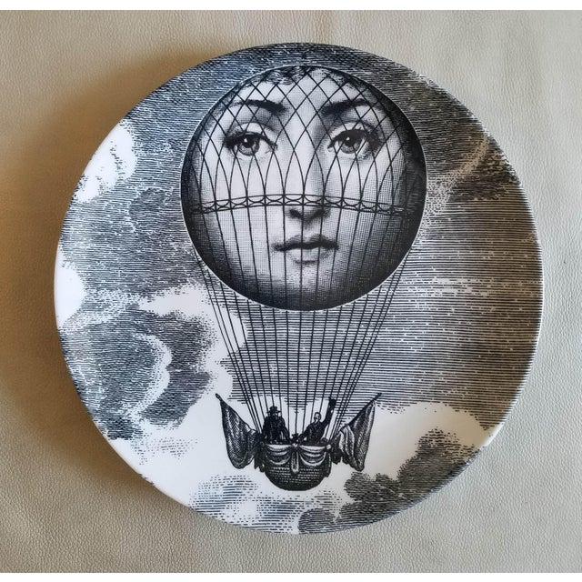 Piero Fornasetti Tema E Variazioni Plate, #131 of Lina Cavalieri's Face - Image 2 of 2